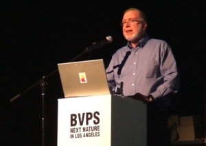Kevin Kelly giving a lecture