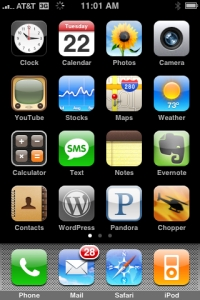 Wordpress Icon for iPhone or iPod Touch