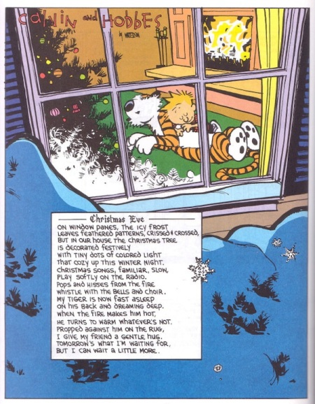 —Christmas Eve— (Calvin & Hobbes)